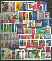 DDR  1970 absolut Postfrisch kompletter Jahrgang ohne Einzelmarken