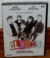 CLERKS DVD NUEVO PRECINTADO COMEDIA HUMOR KEVIN SMITH (SIN ABRIR) R2