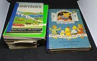 Lot of 10 Vintage German Children Books Language Books and Magazines 1920s-1970s