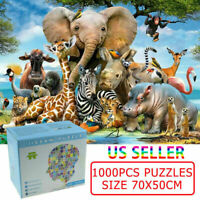 1000 Pieces Growups Jigsaw Puzzles Kids Adults Educational Paper Puzzle Toy