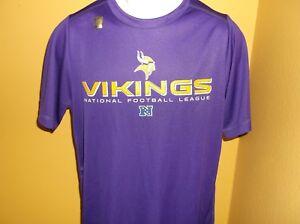 Minnesota Vikings Performance Football Shirt Mens Small nwt Free Ship