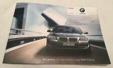 BMW 5 Series Manuals/Handbooks Car Owner & Operator Manuals