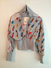 ADIDAS ORIGINALS JEREMY SCOTT AFRICA SURFBOARD CROPPED JACKET SIZE M authentic
