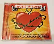 MUSIC IS LOVE MOJO CD JUNE 2007 RADIOHEAD GREEN SIOUXSIE COMPILATION ROCK