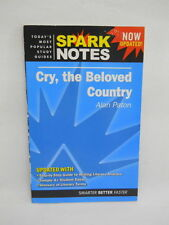 Spark Notes Literature Study Guide Cry, the Beloved Country