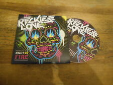CD Rock Reckless Love - Night On Fire (1 Song) Promo UNIVERSAL MUSIC cb