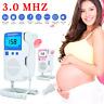 Prenatal Fetal Doppler Meter Baby Heartbeat Monitor Ultrasonic Detector 3.0 MHz