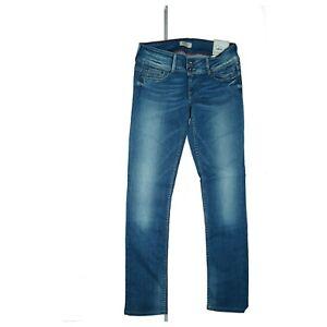PEPE JEANS Ladies 40th Aniversary Limited Damen stretch Hose W28 L30 Blau NEU