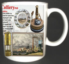 Mosley Common Colliery Coal Mine Mug. Limited Edition. Miners Lancashire Pits