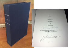 Signed Limited Edition ~ Just Kids by Patti Smith (2010, Hardcover) Clamshell