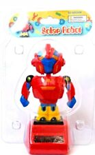 Solar Power Dancing Toys Solar Robot Red Yellow Brand New In Blister Fast Ship