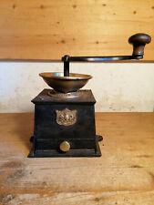 alte schöne englische Kaffeemühle moulin café coffee grinder