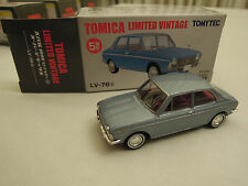 Tomica Limited Vintage Subaru 1000 1/64 Set / Lot LV-63a, LV-63b, LV-76a, LV-76b
