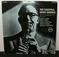 BENNY GOODMAN THE ESSENTIAL (VG) V6-8582 LP VINYL RECORD