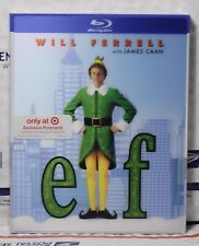 NEW ELF BLU-RAY LENTICULAR SLIPCOVER ONLY! TARGET EXCLUSIVE! NO MOVIES! PLZ READ