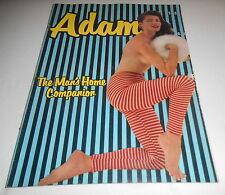 ADAM #12 VINTAGE MEN'S MAGAZINE 1957 ROBERT SILVERBERG STORY RARE