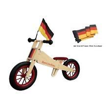 Bambino Bike Deutschland Holzlaufrad inkl. Fahne + Sattelauflage Laufrad Kinder