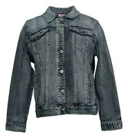 Laurie Felt Women's Sz L Classic Denim Jacket Blue A290645