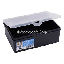 British Made Plastic Compartment Storage Box Organisers Hobby Crafts DIY Tackle