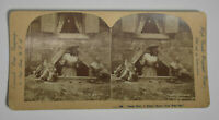 Antique Black Americana Stereoview Card - Ingersoll View Co Vintage Photograph