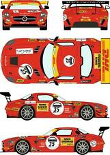 1/24 Decal Mercedes SLS GT3 #35 24h of Spa 2011 for Fujimi