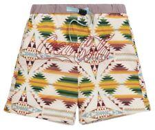 Kith x Coca-Cola x Pendleton Swim Short Beige/Multi Size Large Deadstock New