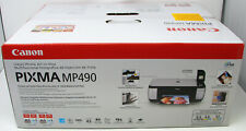 Brand New Sealed Canon PIXMA MP490 All-In-One Inkjet Printer