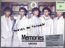 UKISS: Memories (2014) U-Kiss Korea Japan / CD DVD PHOTOBOOK TAIWAN