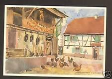 SUNDHOFFEN (68) Volaille à la FERME par C. SCHWOB ren 1993