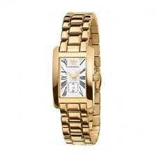 Emporio ARMANI AR0175 Gold Pearl Dial Ladies Classic Watch - 2 Year