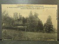 cpa 67 ruines de l'abbaye de truttenhausen pres barr