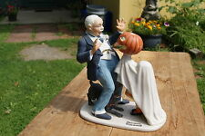 """1980 Norman Rockwell Figurine """"Trick Or Treat"""""""