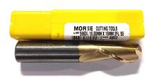Morse 18mm Solid Carbide Ball End Mill Tin Coated 2 Flute USA Made 90558