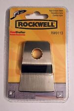 NEW NIP ROCKWELL SONICRAFTER RIGID SCRAPER BLADE RW9113