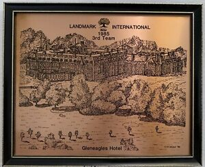 Copperware Designs Gleneagles Hotel Landmark International 1985