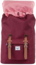 Little America Mid-Volume Backpack, Herschel, Windsor Wine/Tan