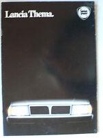 Prospekt Lancia Thema i.e. / turbo, 6V, turbo ds zur Premiere, 3.1985, 24 Seiten