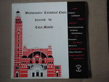 WESTMINSTER CATHEDRAL CHOIR - COLIN MAWBY LP furness EMW 101S 1972