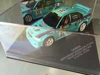 RARE 1/43 MITSUBISHI EVO 6 N°22 Rally WRC MONTE CARLO 2000 MONTECARLO