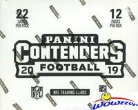 2019 Panini Contenders Football MASSIVE Sealed JUMBO FAT Pack BOX-264 Cards