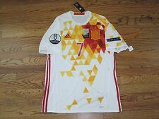 Morata Spain Real Shirt Jersey Player Issue Match Un Worn 2016 Adizero