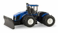 NEW HOLLAND T9.645 TRACTOR  WITH AG PRO GROUSER BLADE 8 WHEELER 1:64  ERTL 2015