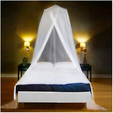 Bed Mosquito Netting Mesh Elegant Lace Canopy Princess Round Dome Bedding Net