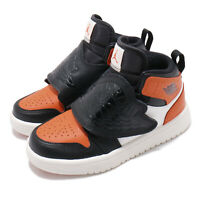 Nike Sky Jordan 1 PS I Black Orange Sail Kid Preschool Shoes Sneakers BQ7197-008