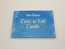 Care Bears Care A Lot Cards Postcards SEALED