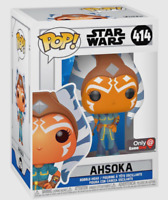 AHSOKA EXCLUSIVE STAR WARS FUNKO POP CLONE WARS #414 PRE ORDER