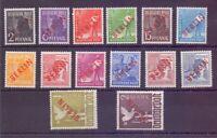 Berlin Rotaufdruck 1949 MiNr 21/34 postfrisch geprüft - Michel 1.400,00 € (115)