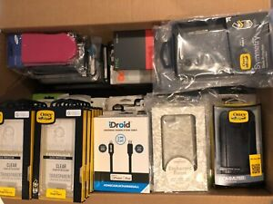 (RV515) JOBLOT of 130 x Mixed Covers & Cases for Various Mobiles / Smart Phones