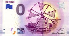 PORTUGAL Moinhos, N° de la 2ème liasse, 2018, Billet 0 € Souvenir