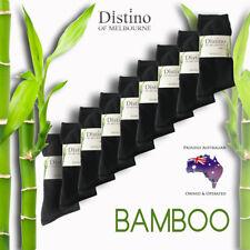 Mens Bamboo Dress Socks - Men's Bamboo Fibre Black Business Socks